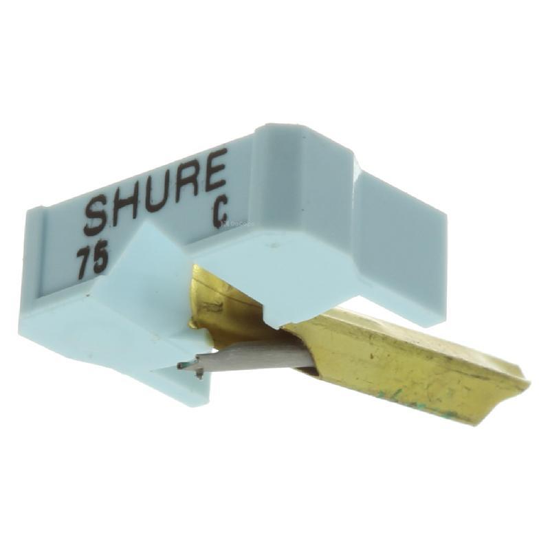 N75 Stylus for Shure M71, M73, M75 : Brand:Shure, Info:Original Shure N75C Stylus (in bulk box), Stylus:Spherical