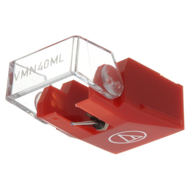 VMN-40ML stylus for Audio Technica VM-540ML / VM-740ML : Brand:Audio Technica, Info:Original Stylus, Stylus:Nude Microlinear