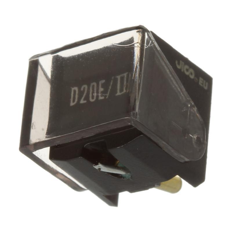 D-20E mk II stylus for Ortofon VMS-20E mk II : Brand:JICO, Info:Genuine JICO, Japan Stylus (E005724), Stylus:Elliptical