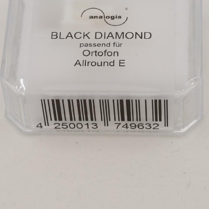 D-15XE mk II stylus for Ortofon VMS-15XE mk II : Brand:Analogis, Info:Black Diamond, Stylus:Nude elliptical