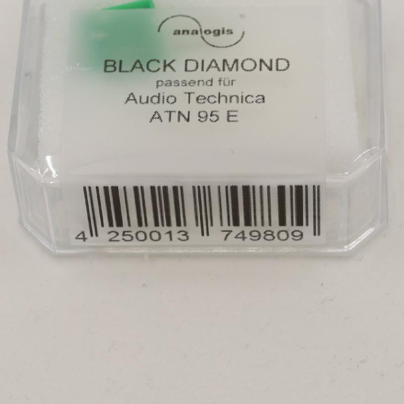 ATN-95 Stylus for Audio Technica AT-95 : Brand:Analogis, Info:Black Diamond, ATN-95E replacement, Stylus:Nude elliptical