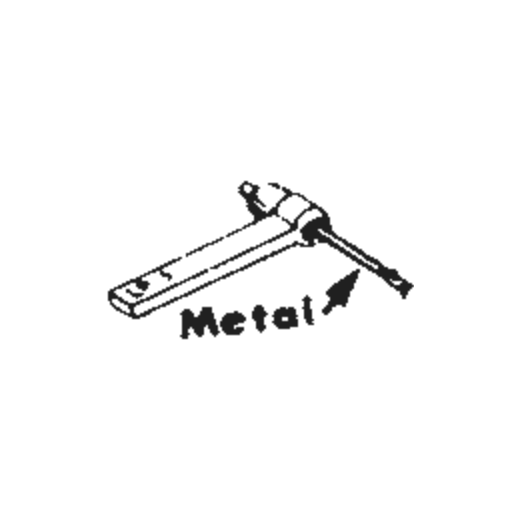 Electro Voice 132 / 141 / 149 / 2619 : Brand:Tonar, Info:Aftermarket Stylus, Stylus:Dual Sapphire 78RPM Mono + Diamond Stereo
