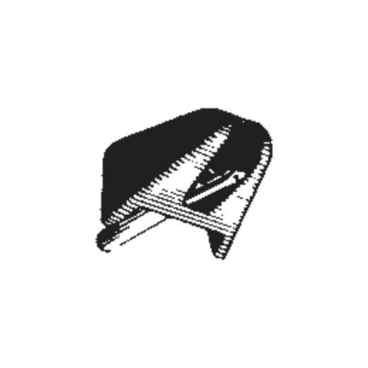 S808 7RD / ERD Stylus for Empire 808 / 808E : Brand:Empire, Info:Original Empire S808E-ERD for 808E (Black), Stylus:Elliptical