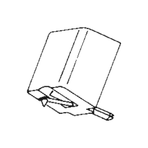 Goldring NG-2 E Stylus : Brand:Tonar, Info:Aftermarket Stylus  (Black), Stylus:Spherical