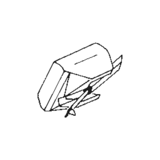 Goldring G-900 SE Stylus : Brand:Tonar, Info:Aftermarket Stylus, Stylus:Hyper elliptical