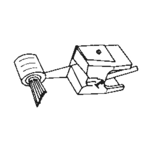 Pickering D-2000 Q IM Stylus : Brand:Tonar, Info:Aftermarket Stylus  SHIBATA, Stylus:-