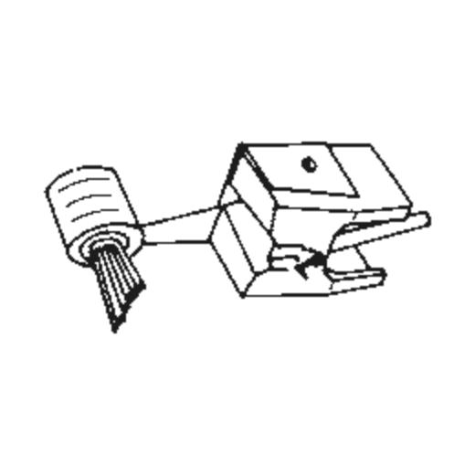 D 2400 Q Stylus for Pickering UV-15/2400-Q : Brand:Tonar, Info:Aftermarket Stylus  SHIBATA, Stylus:-