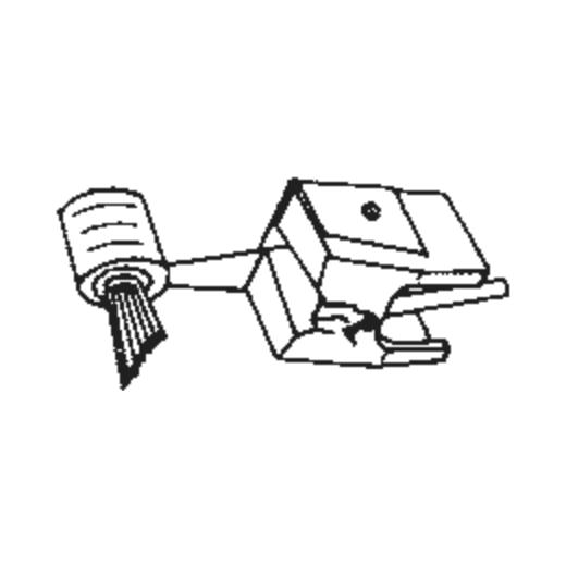 Pickering D-4500 Q Stylus : Brand:Tonar, Info:Aftermarket Stylus  SHIBATA, Stylus:-