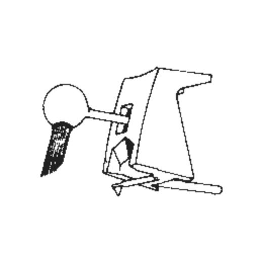 D-6827 2.7MIL Mono Stylus for Stanton 680/681 : Brand:Stanton, Info:Original Stanton D-6827 (2.7MIL for 680/681 Series), Stylus:Spherical (78 RPM)
