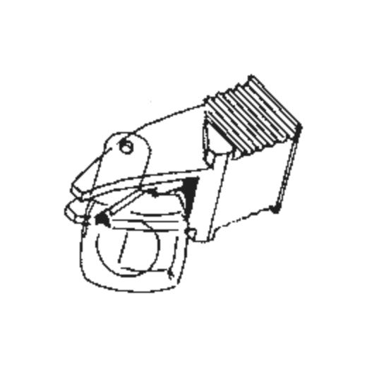 DN 140 S Stylus for Dual ULM / TKS 40 S : Brand:Dual, Info:Original Dual DN 140 S Stylus (Made By Ortofon, in Ortofon box), Stylus:Spherical
