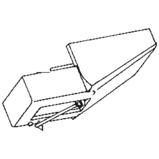 Dual DN-202 Stylus : Brand:Tonar, Info:Aftermarket Stylus, Stylus:-