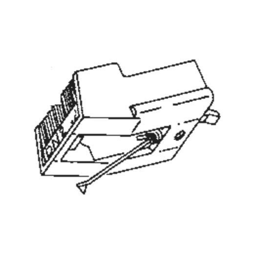 Dual DN-212 (78 RPM) Stylus : Brand:Tonar, Info:Aftermarket Stylus, Stylus:78 RPM