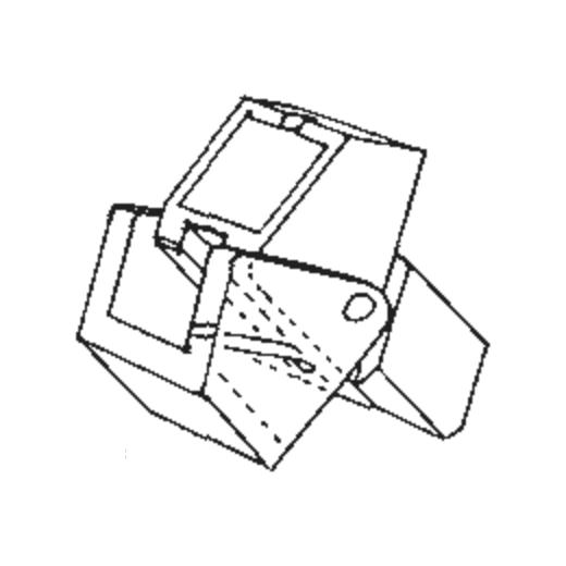 R-PSX-30 Stylus for A.D.C. PSX-30 : Brand:Original, Info:Original Stylus, Stylus:-