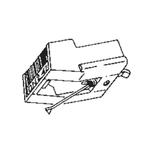 DN-411 Stylus for Dual DMS 410 : Brand:Tonar, Info:Aftermarket Stylus, Stylus:Hyper elliptical