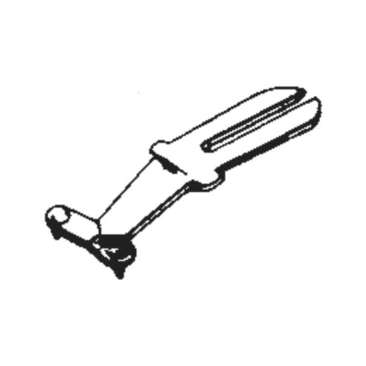 Perpetuum Ebner PE-12 Stylus : Brand:Tonar, Info:Aftermarket Stylus, Stylus:Dual Sapphire 78RPM Mono + Diamond Stereo