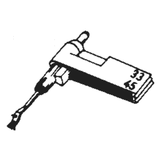 Perpetuum Ebner PE-188 Stylus : Brand:Tonar, Info:Aftermarket Stylus, Stylus:Dual Sapphire 78RPM Mono + Diamond Stereo