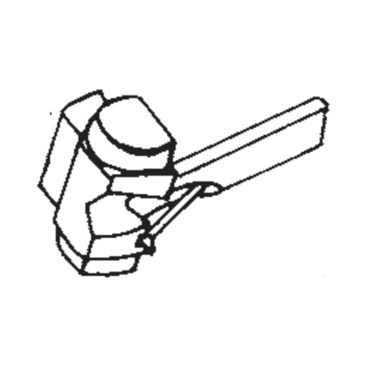 N94LT stylus for Shure M94LT : Brand:Tonar, Info:Aftermarket Stylus  (N94LT type stylus), Stylus:Elliptical