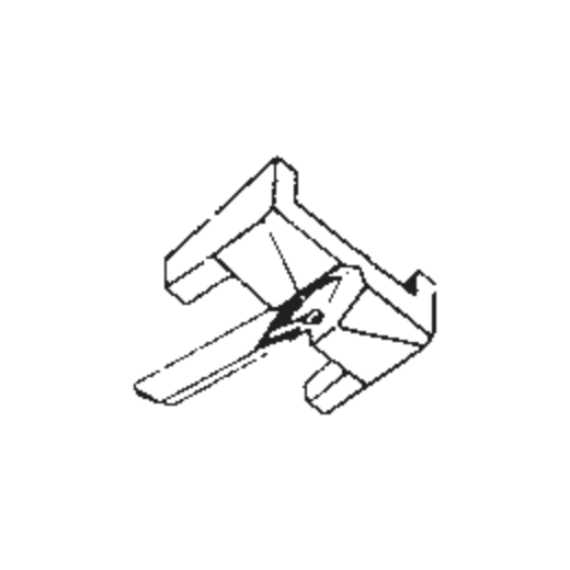 N17C for Shure M17CM : Brand:Original, Info:Original Stylus, Stylus:Spherical