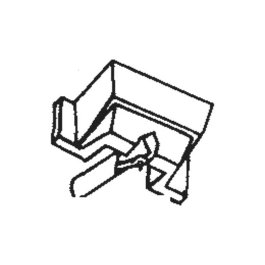 SS35C / SS78E Stylus for Shure SC35C : Brand:Tonar, Info:Aftermarket Stylus  (SS-78E for Shure SS35C 78 RPM), Stylus:Spherical Diamond Mono