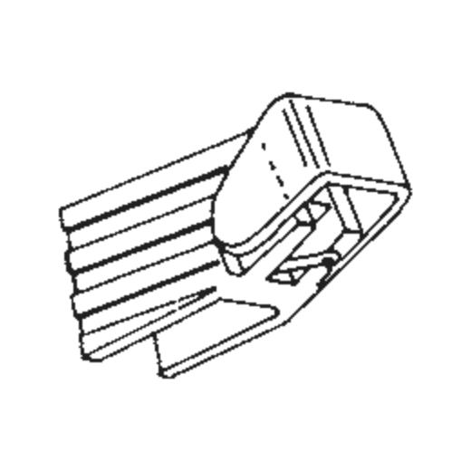 N-5P stylus for Ortofon M-5P : Brand:Tonar, Info:Aftermarket Stylus  (N-5P for Ortofon M-5P / Dual DMS-245 ), Stylus:Spherical