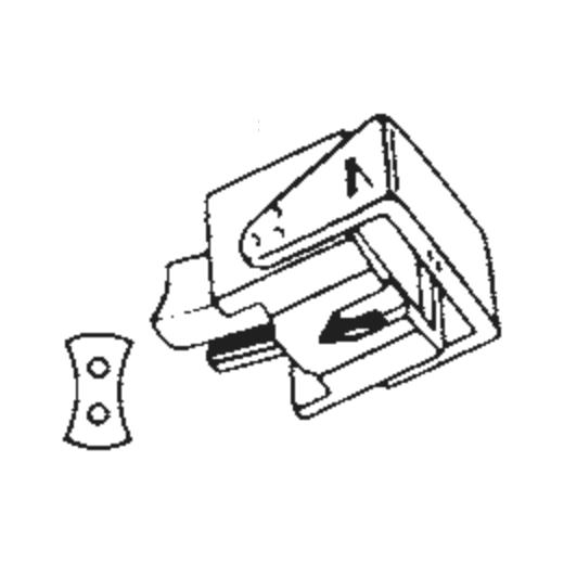 N15 Stylus for Ortofon F15 : Brand:Ortofon, Info:Original Ortofon N-15E Stylus, Stylus:Elliptical