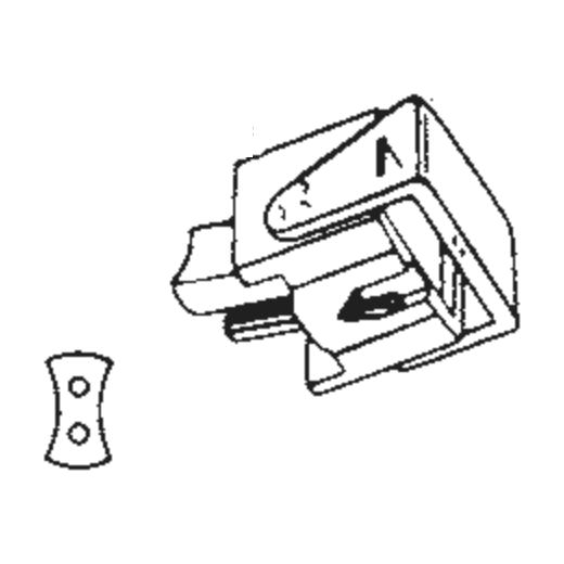 N15 Stylus for Ortofon F15 : Brand:Ortofon, Info:Original Ortofon N-15S Stylus, Stylus:Spherical