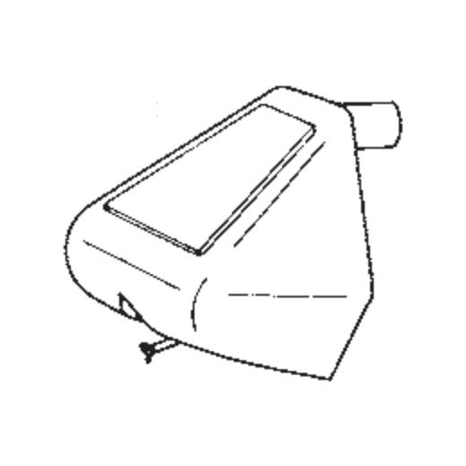 D12GX Stylus for Goldring G1010 / G1012 / G1012GX : Brand:Goldring, Info:Original Goldring D-12GX Stylus, Stylus:Gyger II nude