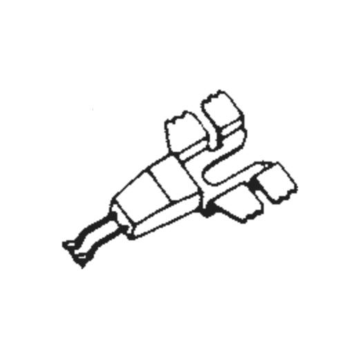 Shure PC-6 Stylus : Brand:Tonar, Info:Aftermarket Stylus, Stylus:Dual Sapphire Stereo + Diamond Stereo