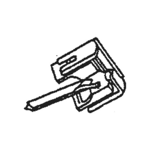 N44 Stylus for Shure M44 Prof/DJ/Club : Brand:Shure, Info:Original Shure N-44 G PROF. Stylus (N44-7/DJ for M44-7/DJ), Stylus:Spherical