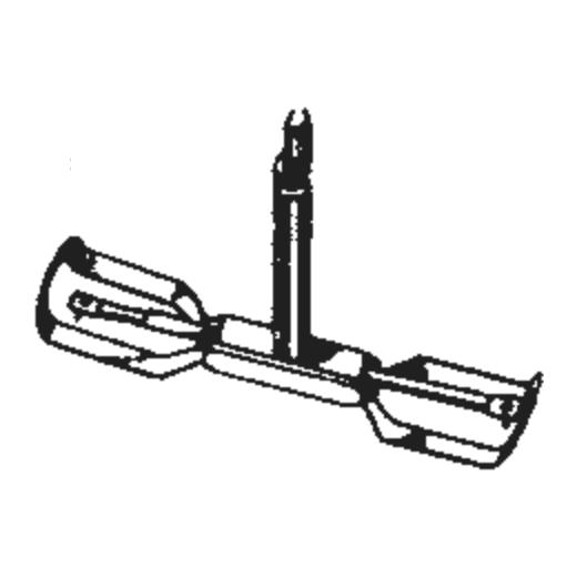 Zenith 142-126/128 Stylus : Brand:Tonar, Info:Aftermarket Stylus, Stylus:Dual Spherical Diamond