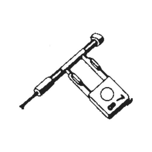 Sonotone 18-T Stylus : Brand:Tonar, Info:Aftermarket Stylus, Stylus:Dual Spherical Diamond