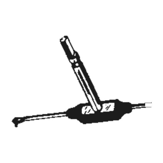Zenith 142-150 Stylus : Brand:Tonar, Info:Aftermarket Stylus, Stylus:Dual Sapphire 78RPM Mono + Diamond Stereo