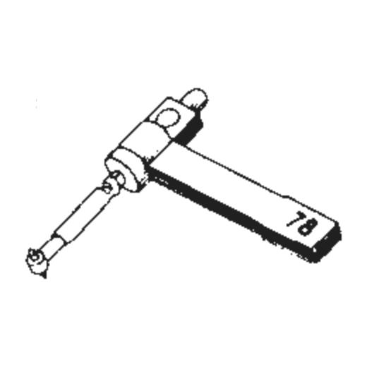 B.S.R. ST-10 Stylus : Brand:Tonar, Info:Aftermarket Stylus, Stylus:Dual Spherical Diamond
