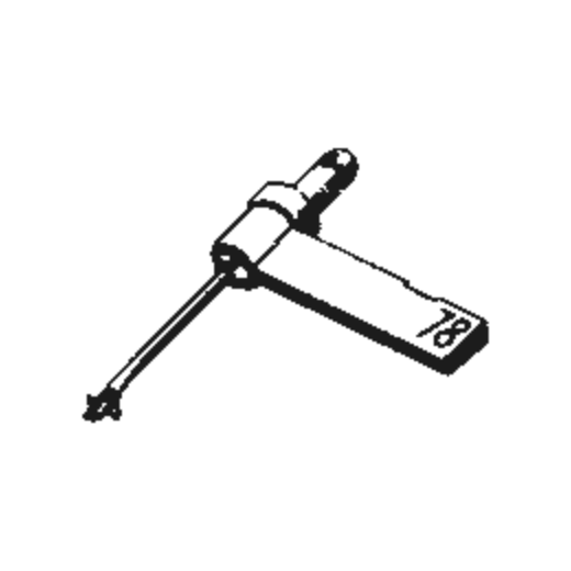 Astatic N-74 Stylus : Brand:Tonar, Info:Aftermarket Stylus, Stylus:Dual Sapphire 78RPM Mono + Diamond Stereo