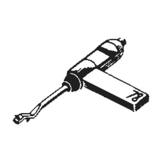 General Electric C-650 Stylus : Brand:Tonar, Info:Aftermarket Stylus, Stylus:Dual Sapphire 78RPM Mono + Diamond Stereo