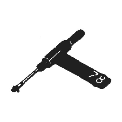 Magnavox 560344 Stylus : Brand:Tonar, Info:Aftermarket Stylus, Stylus:Dual Sapphire 78RPM Mono + Diamond Stereo