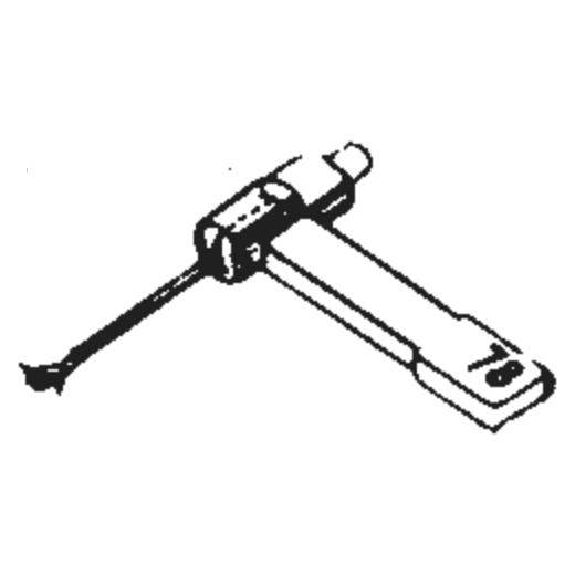 Allphon 66 Stylus : Brand:Tonar, Info:Aftermarket Stylus, Stylus:Dual Sapphire 78RPM Mono + Diamond Stereo