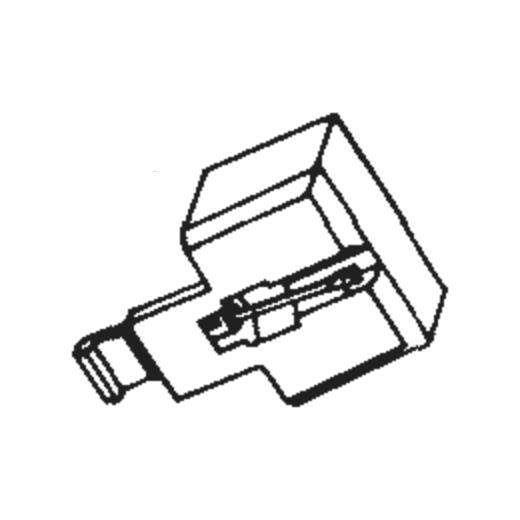 National/Technics EPS-37 Stylus for EPC-37 : Brand:Tonar, Info:Aftermarket Stylus, Stylus:Spherical