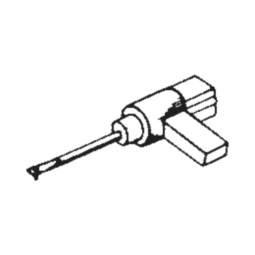 Schumann /HMV-1 SHORT HANDLE Stylus : Brand:Tonar, Info:Aftermarket Stylus, Stylus:Spherical