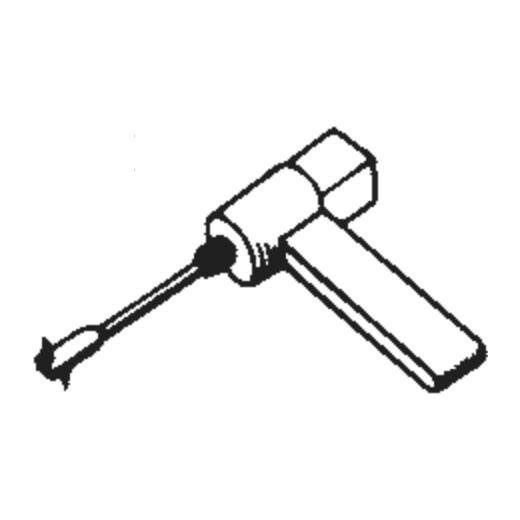 Schumann STC-481 Stylus : Brand:Tonar, Info:Aftermarket Stylus, Stylus:Dual Sapphire 78RPM Mono + Diamond Stereo