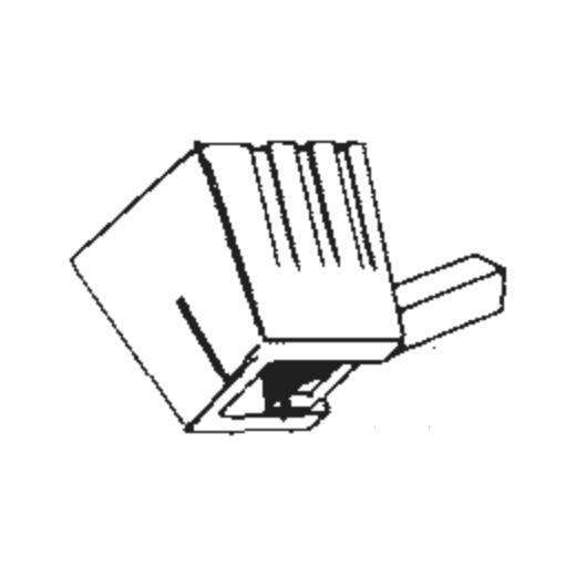 Micro M-207 Stylus : Brand:Tonar, Info:Aftermarket Stylus, Stylus:Spherical