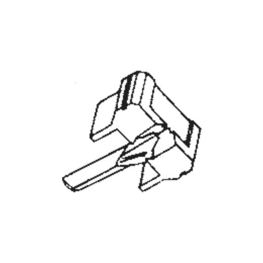 N91 E/ED/G/GD/SAS Stylus for Shure M91 : Brand:JICO, Info:Genuine JICO, Japan Stylus (E007455) (N91G for M91G), Stylus:Spherical