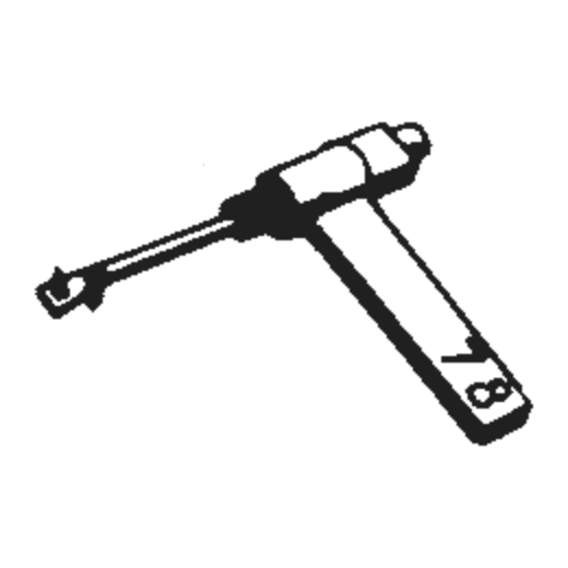 Euphonics U-15/2 Stylus : Brand:Tonar, Info:Aftermarket Stylus, Stylus:Dual Sapphire 78RPM Mono + Diamond Stereo