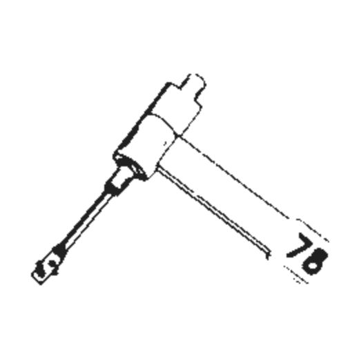 B.S.R. ST-14 Stylus : Brand:Tonar, Info:Aftermarket Stylus, Stylus:Dual Sapphire 78RPM Mono + Diamond Stereo