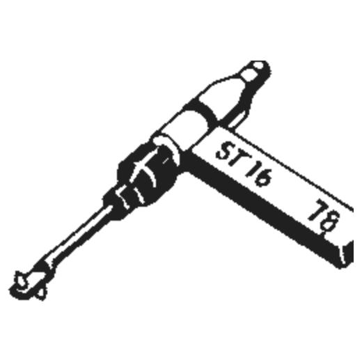 B.S.R. ST-17 Stylus : Brand:Tonar, Info:Aftermarket Stylus, Stylus:Dual Sapphire 78RPM Mono + Diamond Stereo