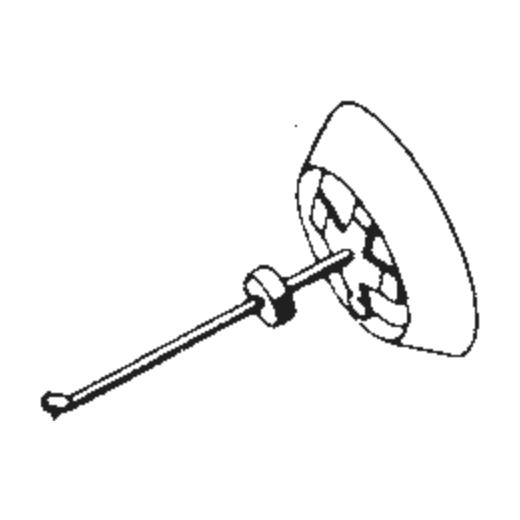 Dual DN-301 Stylus : Brand:Tonar, Info:Aftermarket Stylus, Stylus:Spherical