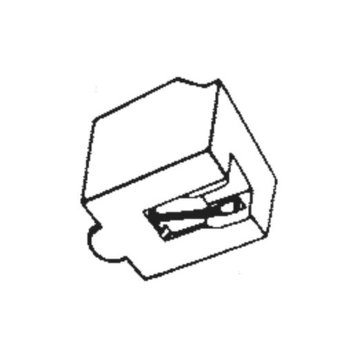 Sanyo ST-14 D Stylus : Brand:Tonar, Info:Aftermarket Stylus, Stylus:Spherical