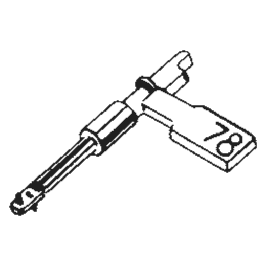 Electro Voice 2641 / 5083 : Brand:Tonar, Info:Aftermarket Stylus, Stylus:Dual Sapphire 78RPM Mono + Diamond Stereo