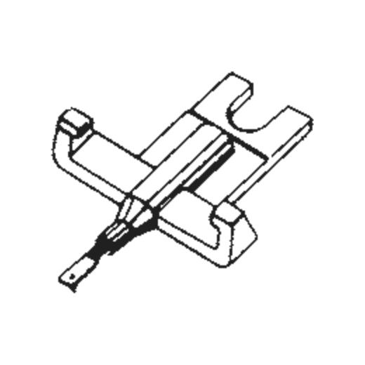General Electric C-660 Stylus : Brand:Tonar, Info:Aftermarket Stylus, Stylus:Spherical