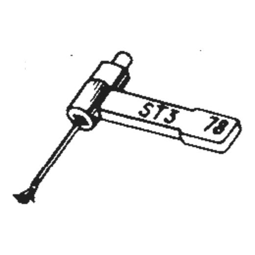 B.S.R. ST-6 Stylus : Brand:Tonar, Info:Aftermarket Stylus, Stylus:Dual Spherical Diamond